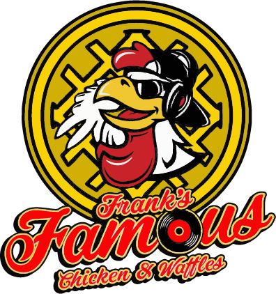 Franks Famous Chicken and Waffles Logo